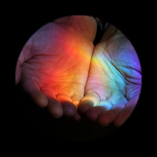 photo d'un spectre lumineux coloré, la chromothérapie au cabinet Hypnose 13 à Rognac